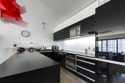 Czarno Biala Kuchnia Projekty Kuchni Kuchnia