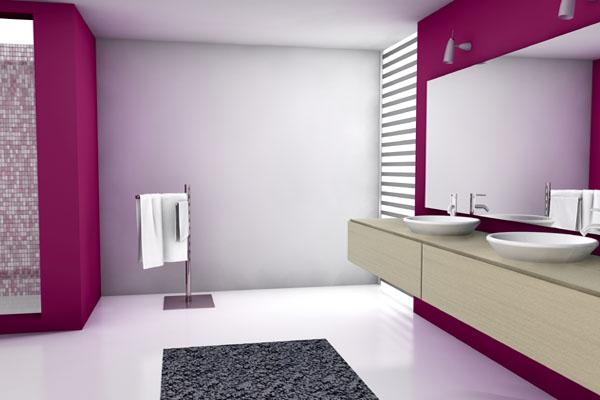 Nowoczesne łazienki Eco Przestronna I Mała łazienka