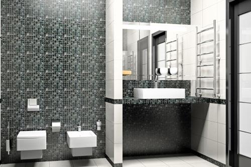 Szara łazienka Projekty łazienek łazienka